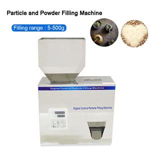 5-500g Racking alimentaire machine Granular poudre Matériaux d'emballage Pesée Machine de remplissage de la machine pour les graines de café Bean