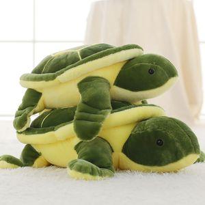 Super nette 40cm-90cm Grüne Meeresschildkröten / Tortoise Plüschtiere Schöne Schildkröte weiche Plüschtiere Puppe Kissen Baby-Kind-nette Geschenke MX200716