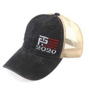 Donald Trump 2020 Baseball Cap Trump Face Masks Keep America Great President Election Trump Mesh Cap Outdoor Sports Party Hats CYZ2490