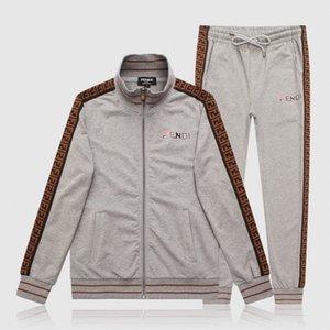 새로운 Desinger 조깅 정장 남성 패션 메두사 재킷 + 바지 스포츠웨어 조깅 정장 남성을 운동복 캐주얼웨어를 실행