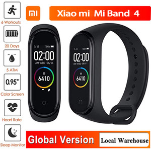 Xiaomi Mi Banda 4 inteligente Pulseira de Fitness Rastreador Assista Heart Rate Monitor do sono
