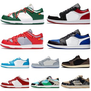 SB Dunk Low 1 Femmes Hommes Basketball UNC Chaussures Baskets DIO Chunky Dunky blanc cassé VALENTINE DAY hommes de sport Chaussures de sport