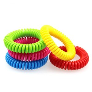 Good quality Mosquito Repellent Band Bracelets Anti Mosquito Pure Natural Adults and children Wrist band mixed colors Pest Control