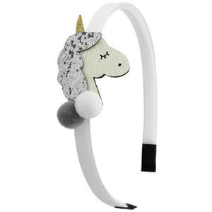 2016 Unicorn Horn Headband Halloween Girls Rabbit Ear Hair Hoop Cosplay 6 Color Unicorn Horn Headband Halloween Girls hairclippersshop olfxu