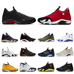 Nike Air Jordan Retro 14 Gym Red Doernbecher 14s DMP 14 Mens basketball shoes XVI Reverse University Red Last shot Jumpman Z Varsity Royal men sports sneakers 7-13