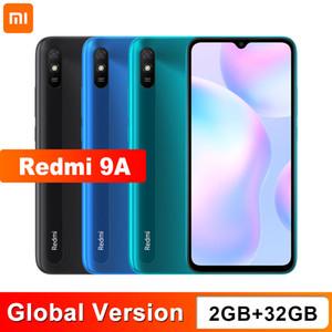 Nueva versión global Xiaomi redmi 9A del teléfono móvil 2 GB de RAM 32 GB ROM MTK Helio G25 Octa Core 6.53