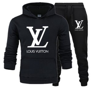 Frankreich Marke Designer Herren Tracksuits survêtement pour homme Herbst Winter Herren Sakko LOUIS VUITTON Pullover Männer Casual Jacke