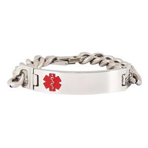 Titanium Steel Bracelets Women Silver Bangles Female With Hook Buckle Clasp Charm Bracelet For Women And Men Jewelry vGFy#
