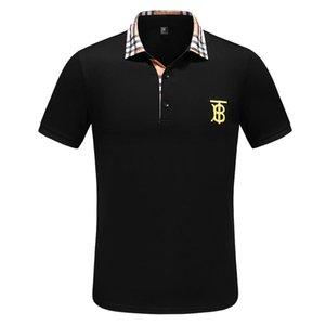 Нового мужской футболки лето конструктора класс люкс хлопок футболка мода мужская и случайный хлопок футболка женской Бесплатная доставка одежда