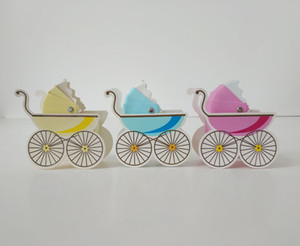 Baby driver cart candy box creative wedding supplies baby birth gift candy box