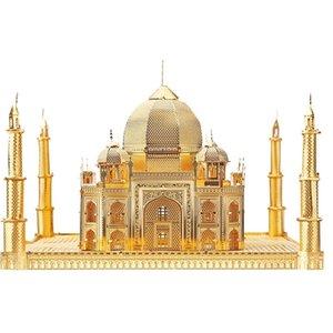 3D 퍼즐 금속 장난감 타지 마할 건물 조립 모델 교육 퍼즐 3D 모델 MX200414