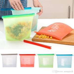 Fresh Storage Bags Sealing Bag for Home Silicone Food Organization Gadgets Kitchen Tools Factory wholesale LZ0493