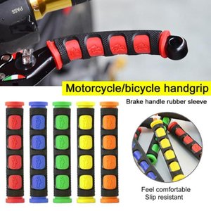 2Pcs / pair Umwelt Gummi Motorrad Handgriff-Abdeckung Motorrad Bremsen-Kupplungs-Hebel-Abdeckung Lenkergriffe
