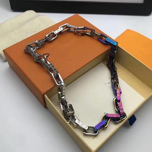 2020 Lanciato in designer di lusso braccialetto alla moda colorata lettere LOGO collana Chain di marca per uomini e donne Festival doni
