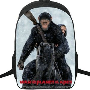 Apes backpack Rise of the Planet daypack Film schoolbag Photo print rucksack Sport school bag Outdoor day pack