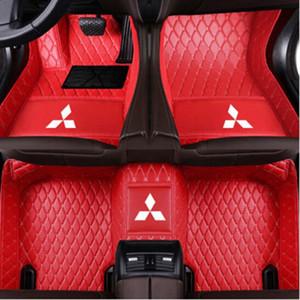 Для Mitsubishi Lancer Fortis 2013-2017 Водонепроницаемого Покрытие Ковры коврика Нетоксичных и без запаха