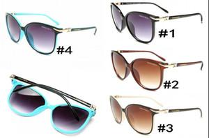 High quality classic aviator fashion sunglasses designer brand men and women sunglasses glasses gold metal GrGlass lenses brown case 0772