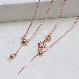 yfFOq S925 croce d'argento con ago collana Diy caviglia diy Lutong forma y femmina universale collana catena catena cavigliera braccialetto perforazione 15