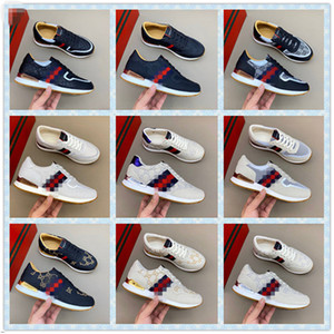 New Hot New Arrival Fashion Men Women Casual Shoes Sneakers Shoes Top Quality Genuine Leather Bee Embroidered 38-44