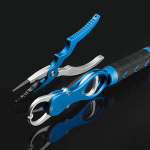 Новый алюминиевый сплав Рыбалка Плоскогубцы ручки Набор рыболовные снасти крючок Recover Cutter Line Split Ring рыболовстве высокого качества инструмента Hot