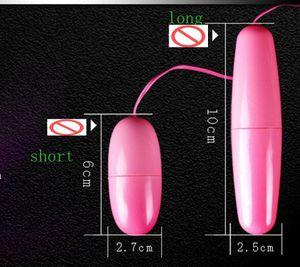 Pink Single Jump Egg Vibrator Bullet Vibrator Clitoral G Spot Stimulators Sex Toys Sex Machine for Women 001