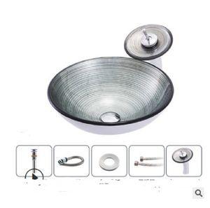 2020 sıcak satış banyo lavabo Banyo üreticisi Nordic basit sarmal desen sahne havza sanat lavabo banyo aşaması havzası