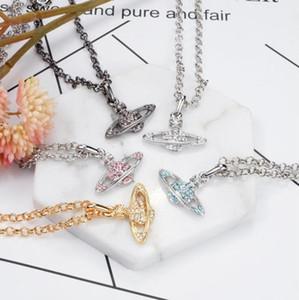 Shining Diamond Stone Cross Pendants Necklace Jewelry Platinum Plated Men Women Lover Gift Couple Religious Jewelry