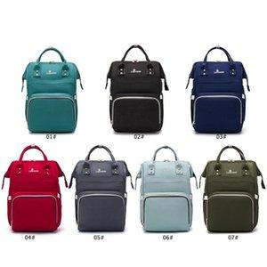 Pure Color Multi-function Mummy Large Capacity Diaper Bags Nursing Handbag
