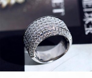 choucong Male Promise Ring 925 Sterling Silver cz Engagement Wedding Band Rings For Women Men Party Jewelry Gift