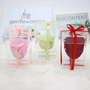 Rose, Rose en la cúpula de cristal para siempre Rose Rose conservado, Belle romántico regalo especial que cuelga llavero upqE #