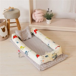 Baby Portable Bed Removable And Washable Baby Isolation Bed Newborn Bionic Storage Bag For Care Room Decor Kids Bedding Boys Twin Boys pg4W#