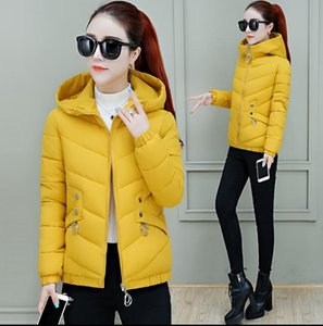 women Hooded down cotton-padded coat short winter clothing new fashion jacket Slim thick warm cotton jackets coats Outerwear
