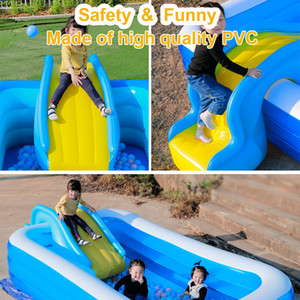 NEW 2020 Inflatable Water Slides For Kids Backyard Summer Outdoor Children Fun Garden Lawn Swimming Pool And Bouncer Water Party Slides