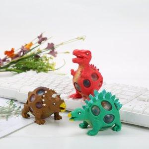 2019 Dinosaur Modèle Raisin Évacuation Boules Squeeze Stress Relief balle pression Jouet enfants Sensory TPR Toy pour l'autisme Vip lien