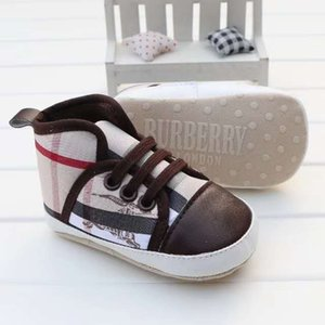 2020 Spring Autumn Canvas Toddler Baby Shoes Girls Boys First Walkers Bebe Baby Sneakers Lace Newborn Baby Crib Shoes