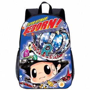 Sevimli Anime Hitman Reborn Çanta Çocuk Okul sırt çantaları 3D Baskı gizli sakli konusmalar Kadınlar Sırt Çantası Çanta Karikatür Çocuk Çantaları Kız Okul Çantaları Yan eEJQ #