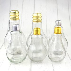 Garrafa de bebida copo caneca de plástico Lâmpada Figura Tumbler Fruit Juice Lamp Globe Cap Achromatic Cor decorativa C2 2 6CY