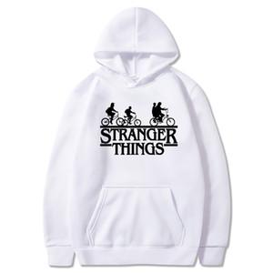 Hombres de diseno de fútbol blanca con capucha Hombres Mujeres SweaterHip Hop sudaderas con capucha Casual Male Extraño cosas Impreso Pullover