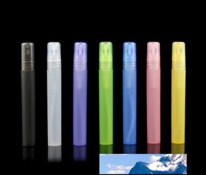 10ml Plastic Travel Perfume Bottle Spray Bottles Empty Cosmetic Containers Empty Atomizer Perfume Pen Refilled bottle