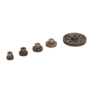 Spur Diff differenziale metallo Main Gear 64T 17T 21T 26T 29T motoriduttore RC di parte di HSP 1/10 Monster Truck brontosauro 94111