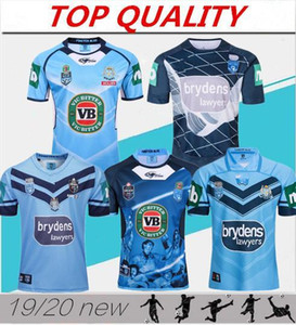2019 2020 NSWRL Hokden State of Herkunft Home Rugby Jerseys New South Wales Rugby League Jersey Holden Nswrl Origins Holton Hemd Größe S-3XL