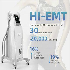 Emsculpt Hiemt Bodybuilding-Maschine Emsculpt Muscle Electro Magnetic Muskel Stimulation Maschine Shock Wave zum Verkauf