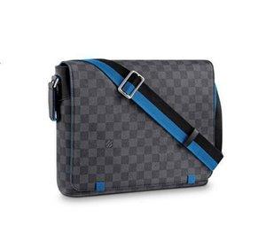 feixiang5255 WVKB DISTRICT MM N42443 Men Messenger Bags Shoulder Belt Bag Totes Portfolio Briefcases Duffle Luggage