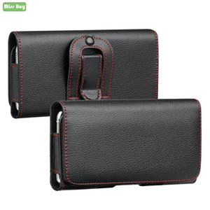 Business Phone Pouch Para Lenovo Z5 Z5S S5 A5 Z6 C2 K9 P2 P70 K5 K6 K8 Nota 2018 Z5 K5 S5 Z6 Pro Virar Da cintura Bag caso capa Parcel