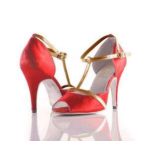 XSG Dişi yetişkin yumuşak alt Latin ayakkabı Latin salon dansı ayakkabıları yüksek topuklu kadın profeesional seksi sahne dans ayakkabıları dans