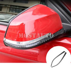 For BMW 3 Series F30 F31 F34 Carbon Fiber Rearview Mirror Anti-Rub Protector 2013-2018 2pcs