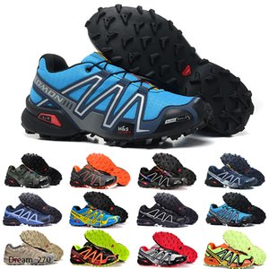 2020 New Zapatillas Speedcross 3 Casual Shoes Men Speed cross Walking Outdoor Sport Hiking Athletic Sneakers Size 40-46