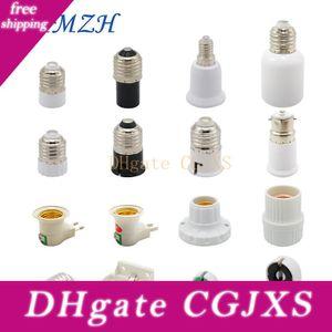 2pcs / Lot GU5 0,3 Holder MR11 G4 Mr16 lámpara E27 convertidor T5 T8 2G11 lámpara E40 E14 B22 Luz del adaptador del zócalo con nosotros enchufe de la UE para el LED