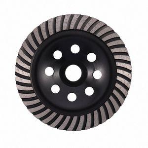 6-дюймовый Алмазная Turbo Row шлифовального Кубок Wheel Подходит для 7/8 дюйма Arbor Алмазный шлифовальный диск для бетона Кладка VjDK #
