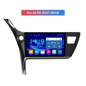 "IPS 9"" Android Car Multimedia Stereo-Bildschirm-Radio Audio GPS-Navigations-DVD-Player Navi Head Unit für TOYOTA ALTIS 2017 2018"